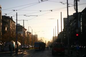 Straßenbahn in Sofia