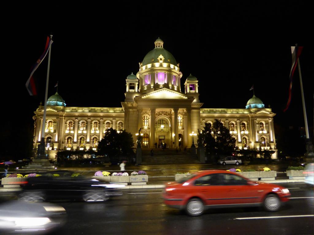 Das Parlament von Serbien
