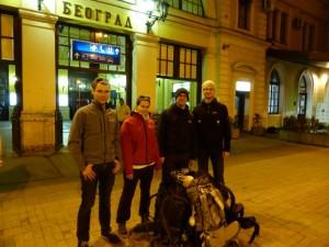 Abschied von Belgrad