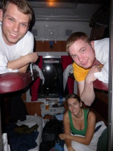 Im Nachtzug nach Bukarest