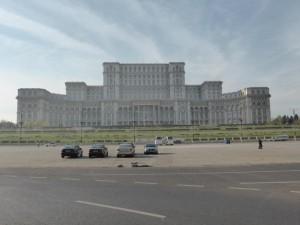 Parlamentspalast in Bukarest (größtes Gebäude in Europa)