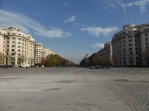 Der Unirii-Boulevard
