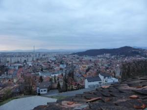 Blick auf Brasov