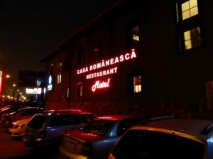 Unser Motel nahe Bukarest