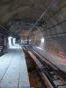 Der Ubahn Tunnel unter dem Bosporus