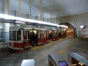 Tünel Metro in Istanbul
