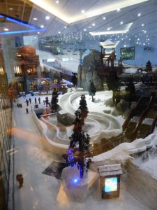 Skiworld in der Emirates Mall