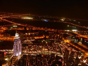 Ausblick vom Burj Khalifa