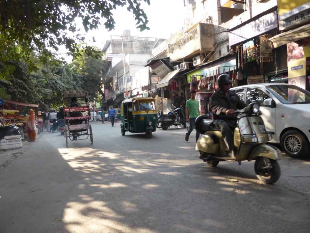 Straßenbild in Neu Dehli