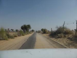 Straßen in Indien