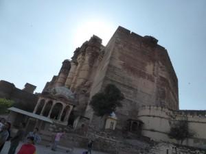 Die Festung Mehrangarh