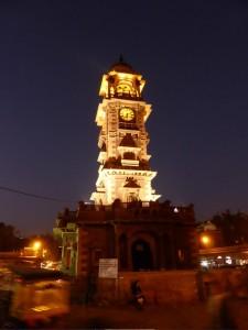 Der Uhrenturm in Jodhpur
