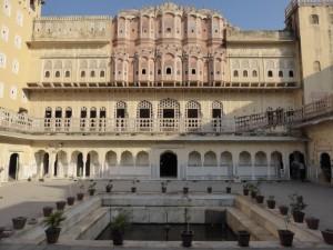 Innenhof im Palast der Winde