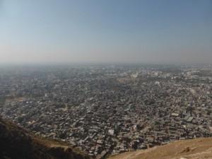 Blick auf Jaipur vom Nahargarh Fort