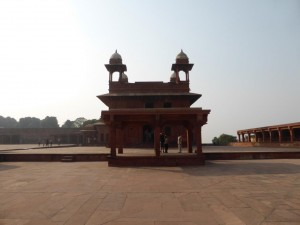 Das Fort in Fatehpur Sikri