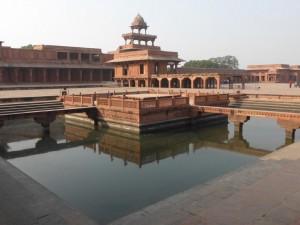 Das Fort in Fatehpur Sikri