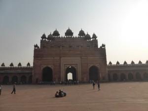 Der Hof in der Moschee
