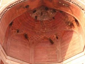 Vogelnester in der Moschee