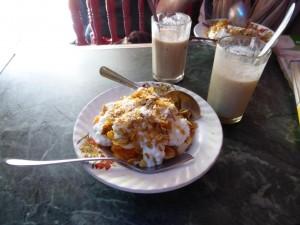 Mittagessen oder besser zweites Frühstück