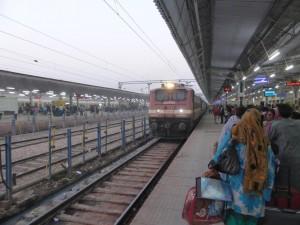 Unser Zug nach Gwalior