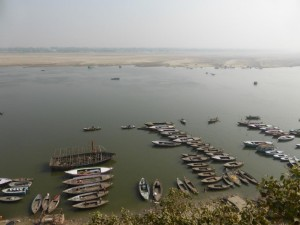 Ganges Ufer in Varanasi
