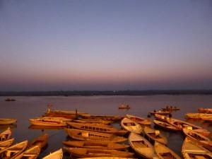Sonnenaufgang in Varanasi