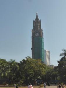 Turm der Uni in Mumbai