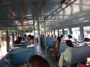 Bus von Kollam nach Verkala