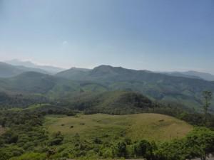 Panoramablick von fast 2000m