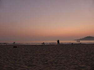 Sonnenuntergang in Palolem