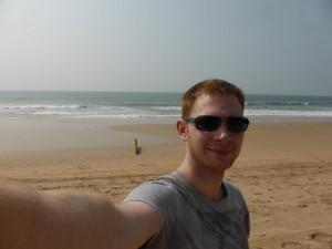 Ich am Agonda Beach