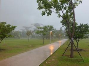 Es regnet :(