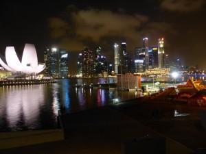 Die Skylie von Singapore