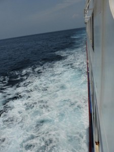 Mit der Fähre auf dem Weg nach Lombok
