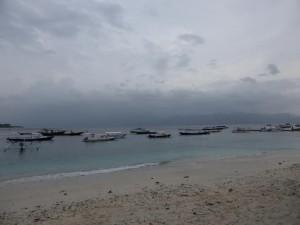 Der Hafen in Gili Trawangan