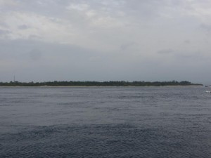 Blick auf Gili Air (Nachbarinsel)