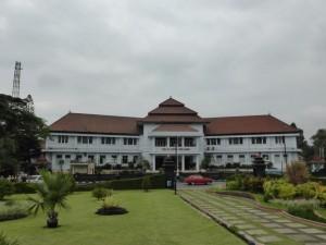 Das Rathaus (noch aus der Niederländischen Kolonialzeit)