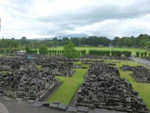 Ruinen im Prambanan Tempel