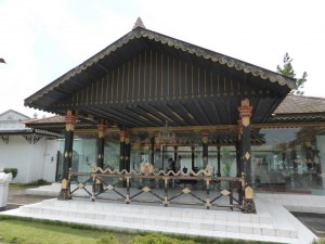 Im Kraton - Sultan Palast