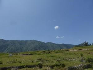 Das Bergpanorama