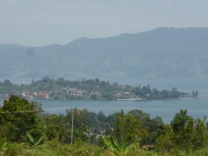 Unsere kleine Halbinsel mit dem Städtchen Tuktuk