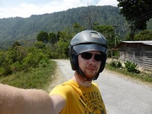 Jan mit Helm