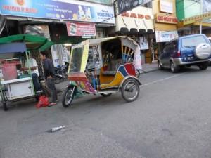 """Becak in Medan - das """"lokale"""" Tuktuk"""