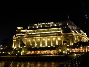 Das Fullerton Hotel in Singapore