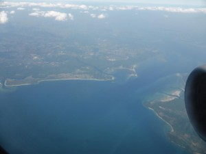 Flug nach Krabi
