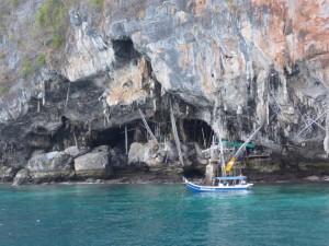 Die Rückseite der Maya Bay