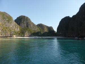 Einfahrt in die Maya Bay