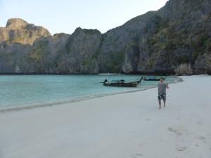 Der Strand ganz für uns allein