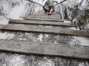 Sehr Steile Treppen im Wat Arun