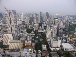 Ausblick von der Skybar im State Tower